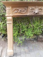 Carved Pine Fire Surround